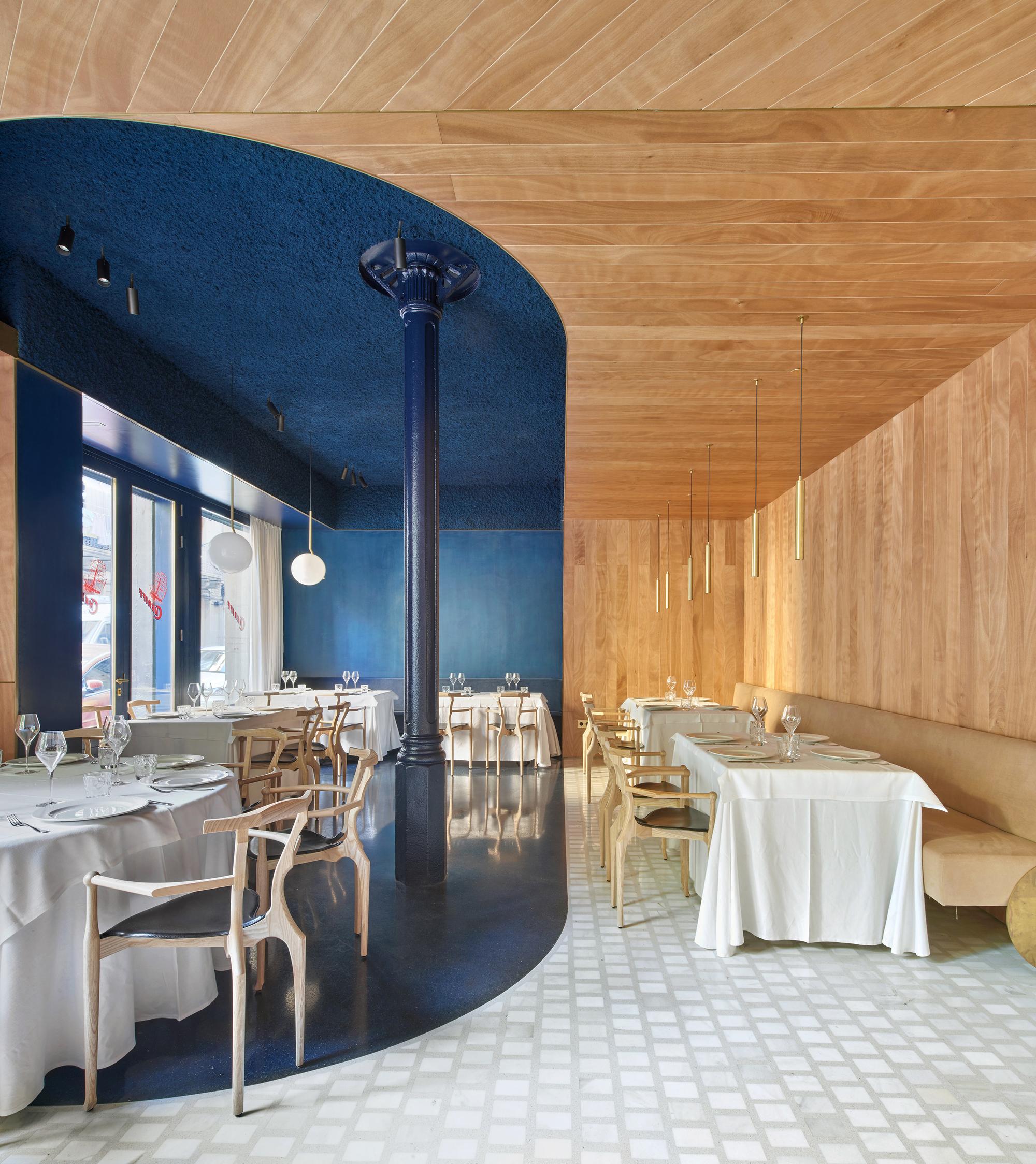 Restaurant Cheriff Mesura Archdaily
