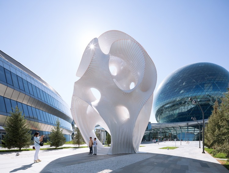 Cazaquistão em ascensão: arquitetura moderna tomando forma, © NAARO