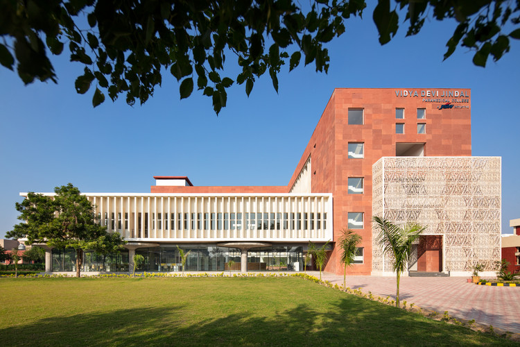 Vidya Devi Jindal Paramedical College / SpaceMatters, © Andre Fanthome