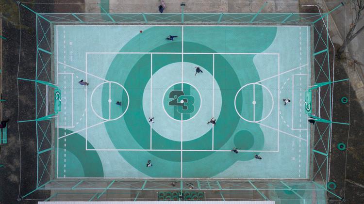 """""""Xico-Parque Sur 23"""": el deporte como intervención social y urbana, © Zaickz Moz"""