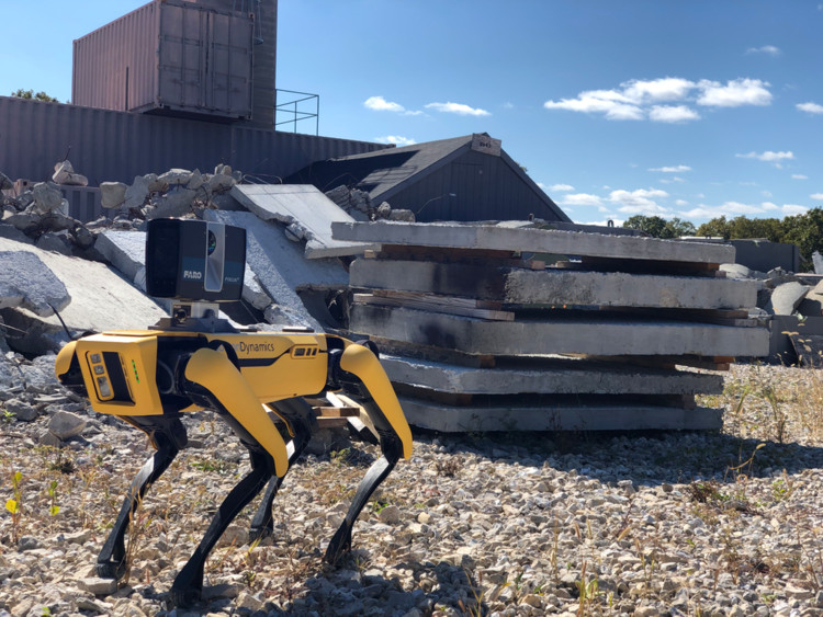 The New Boston Dynamics' Spot 1.1 Revolutionizes the Construction Industry, Courtesy of FARO & Boston Dynamics