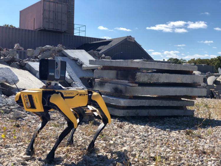 The New Boston Dynamics' Spot 1.1 Revolutionizes the Construction Industry, Courtesy of FARO & Boston Dynamics