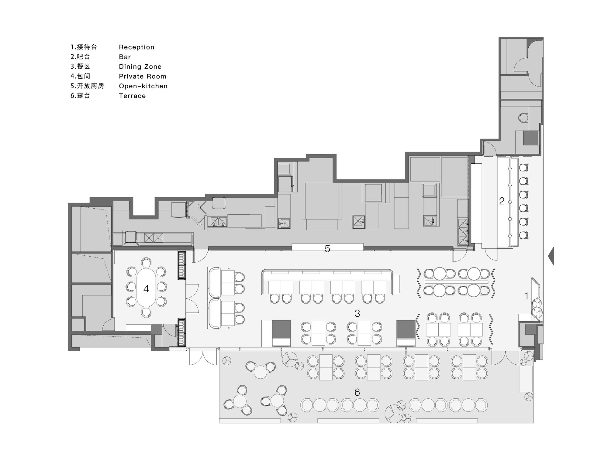 Gallery Of Oxalis Restaurant So Studio 19