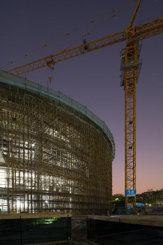 Sitio de construcción HEM. Imagen cortesía de HEM