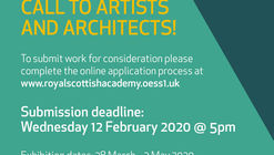 CALL TO ARCHITECTS: RSA ANNUAL EXHIBITION – OPEN ARCHITECTURE 2020