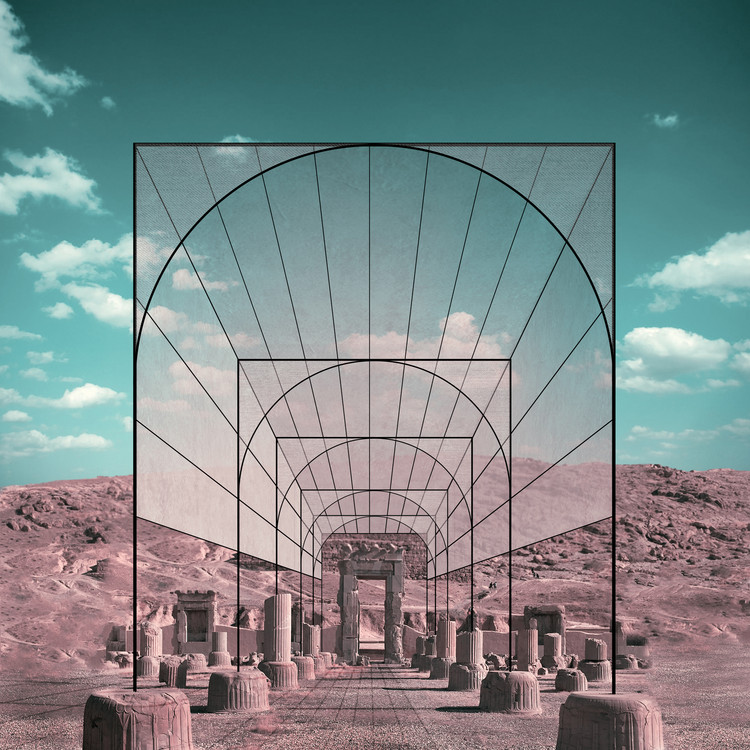 Iran's Cultural Site Persepolis Reimagined through Minimalist Frames, © Mohammad Hassan Forouzanfar