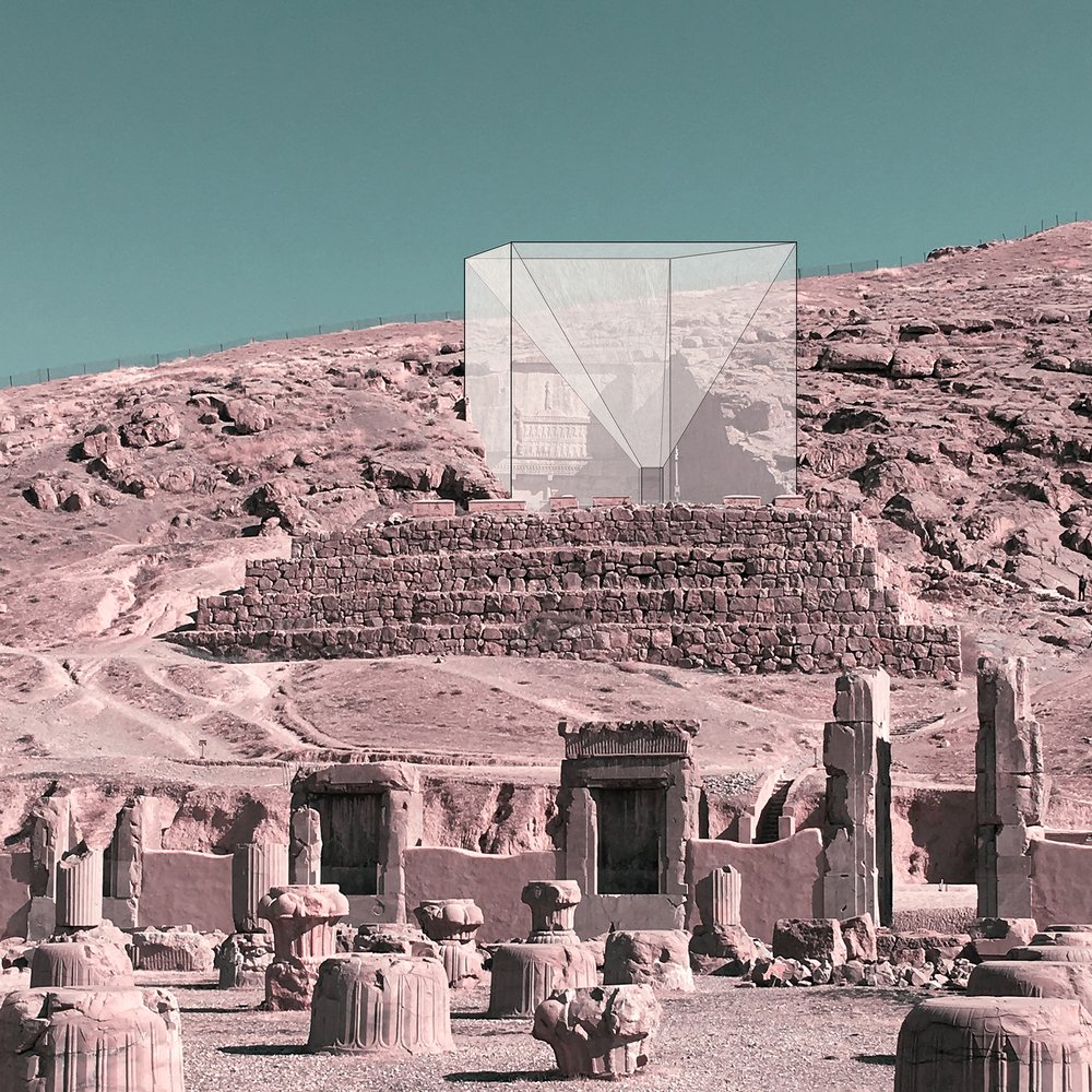 Iran's Cultural Site Persepolis Reimagined through Minimalist Frames,© Mohammad Hassan Forouzanfar