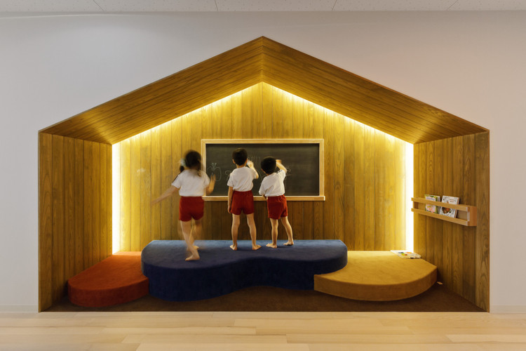 Tips for Lighting Interior Spaces for Children,  OB Kindergarten and Nursery / HIBINOSEKKEI + Youji no Shiro. Image © Studio Bauhaus, Ryuji Inoue