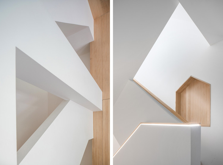 © ENVANER. Image Geometrical Space for a Two Kid Family / Atelier D+Y