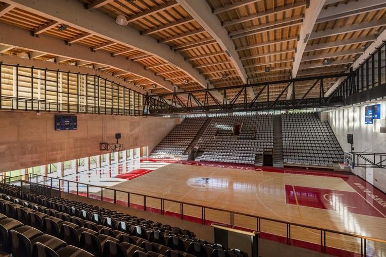 Ginásio Municipal de Salamanca / Carreño Sartori Arquitectos. Imagem © Marcos Mendizabal
