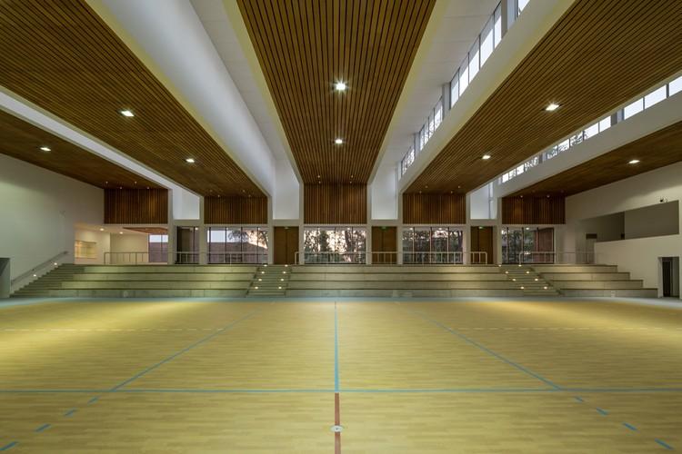 Dunalastair School Gymnasium / Alejandro Dumay + Patricio Schmidt. Imagem © Aryeh Kornfeld