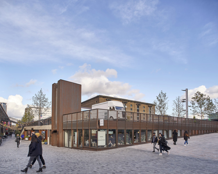 Granary Square Pavilion / Bell Phillips Architects, © Kilian O' Sullivan