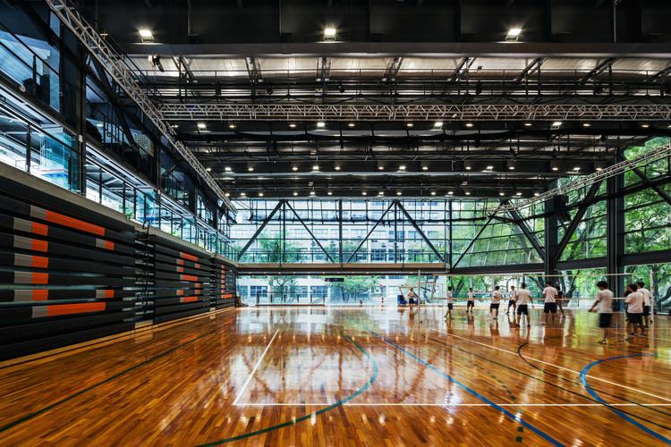 Ginásio de Esportes do Colégio São Luís / Urdi Arquitetura. Imagem © Nelson Kon