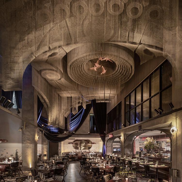 紐約教堂餐廳雕塑 Fillmore,回溯東村文化 / Tresoldi Studio, ? Roberto Conte