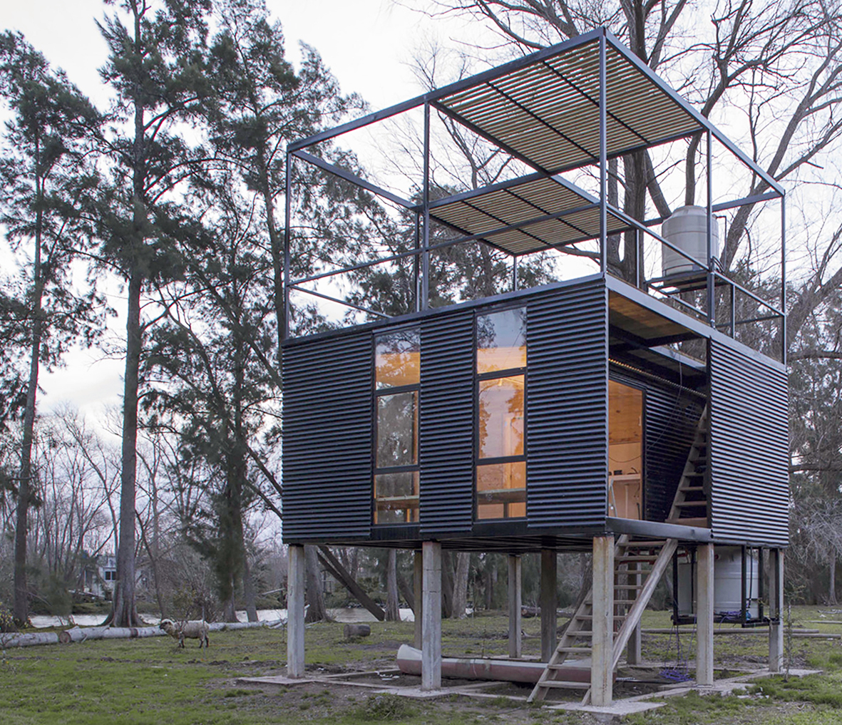 Metal Houses in Argentina: 10 Projects with Sheet Metal Exteriors