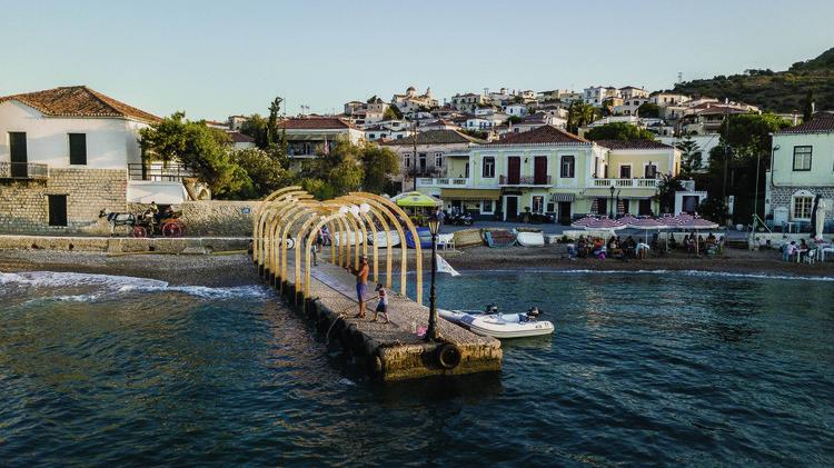 Meds Workshop Generates 14 Projects on the Island of Spetses in Greece, © Vlad Georgiev, Jan von der Heyde, Dimitri Leimgrübler, Chara Kaika