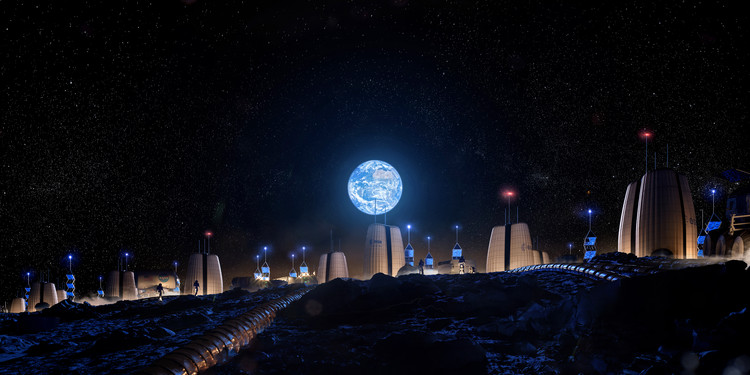 SOM Collaborates with the European Space Agency to Research Habitation on the Moon, © SOM | Slashcube GmbH
