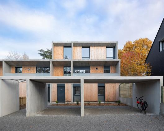 6 Social Housing Units / Atelier 56S