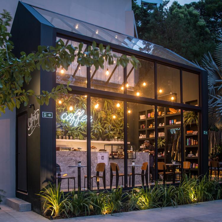 Coffeetown Shop  / TRPC Arquitetos, © Adalberto Vilela Maria e Paula Romano