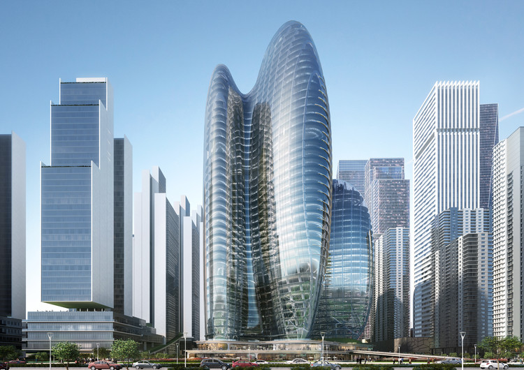 ZHA Wins Competition to Design OPPO's New Headquarters in Shenzhen, © Zaha Hadid Architects