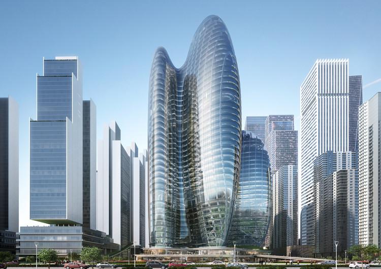 扎哈事务所赢'OPPO深圳新总部'国际竞赛, © Zaha Hadid Architects