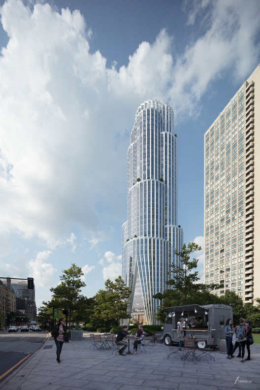 KPF Unveils High Performance and Resilient Tower in Boston , © KPF