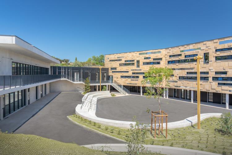 Ada Lovelace Secondary School / A Architecture, © Benoit Wehrlé