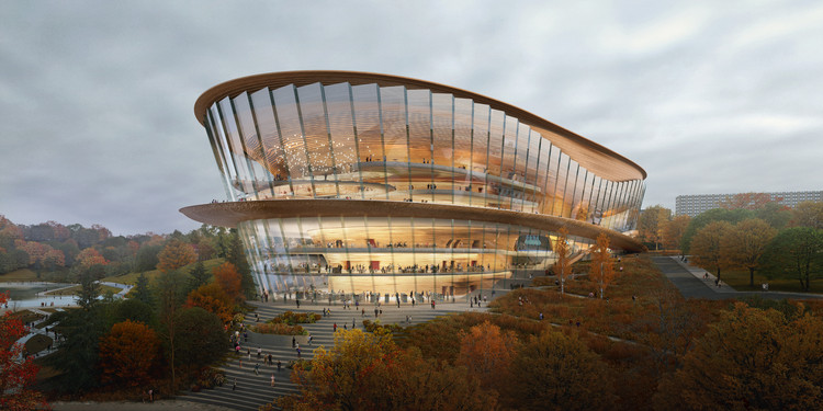 wHY Granted Approval to Design the Tchaikovsky Academic Opera and Ballet Theater in Perm, Russia, Courtesy of wHY