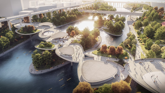 Masterplan for Seoul's International District Waterfront . Image © Beauty and the Bite