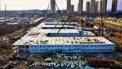 China completa construcción de hospital en 10 días para combatir el coronavirus de Wuhan