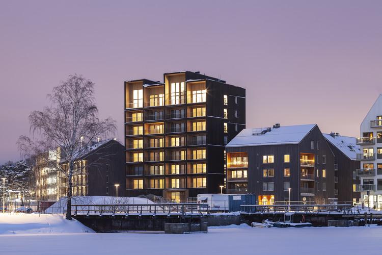 Kajstaden Tall Timber Building / C.F. Møller Architects, © Nikolaj Jakobsen