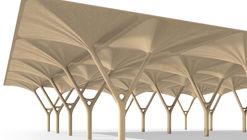 Piezas estructurales y ligeras de madera basadas en la inteligencia natural de los árboles