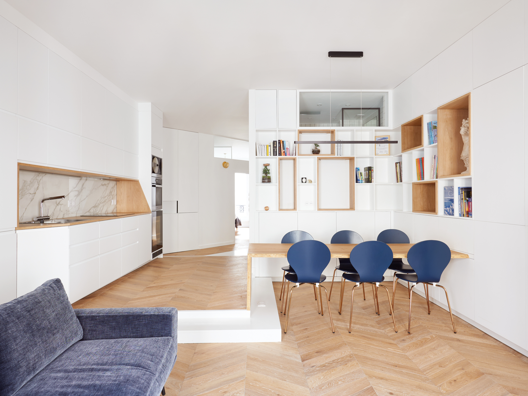Saint-Denis Apartment / JPRCR Architecture