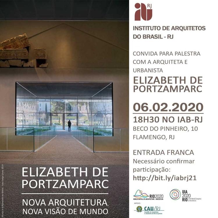 Palestra com Elizabeth de Portzamparc no IAB-RJ