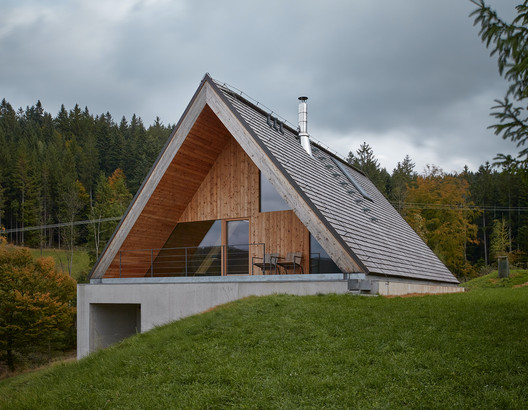 Weekend House in Beskydy / Pavel Míček Architects