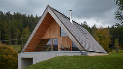 Casa de fin de semana en Beskydy / Pavel Mícek Architects