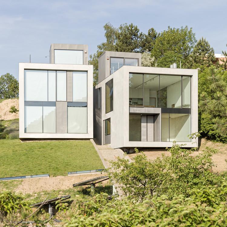 Duplex villa / débert architects, © Balázs Danyi