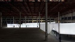 折叠时光线,2019深港双城双年展龙岗分展场设计 / 一树建筑工作室