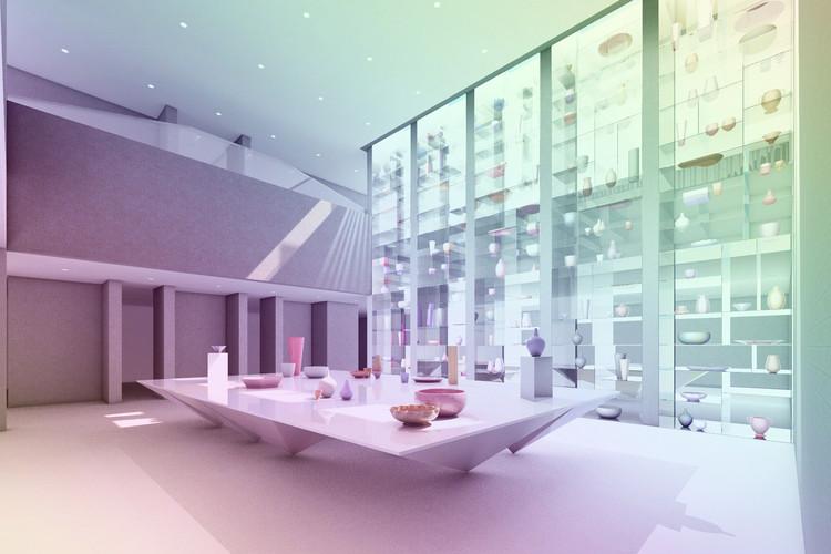 MILLIØNS Proposes Extension for the I.M. Pei-designed Everson Museum of Art, © MILLIØNS