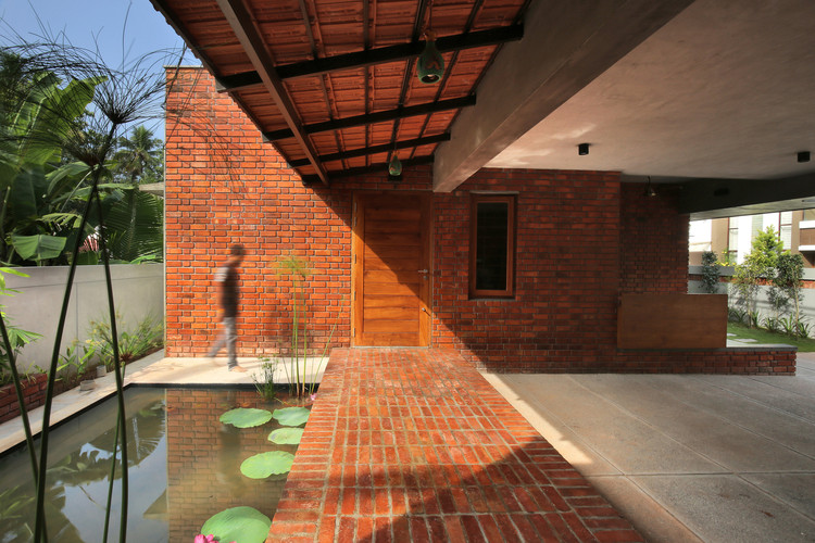 9 Projects that Demonstrate the Versatility of Brick Floor, © Prasanth Mohan, Running Studios