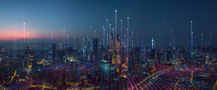 Smart city. Image © Shutterstock/ By amesteohart