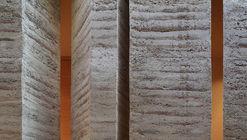 Cómo se construyen los muros de tierra apisonada