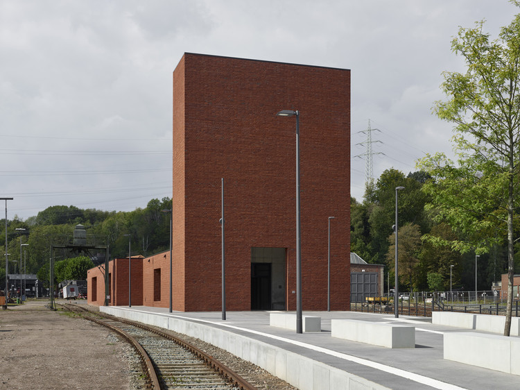 Railway Museum / Max Dudler, © Stefan Müller