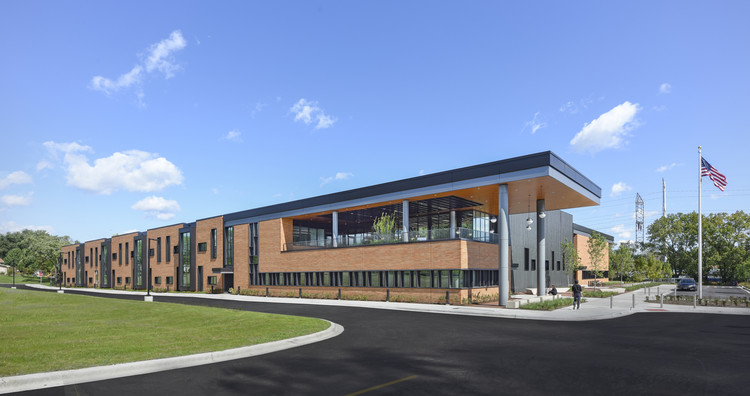 Lisle Elementary School / Perkins and Will, © James Steinkamp Photography