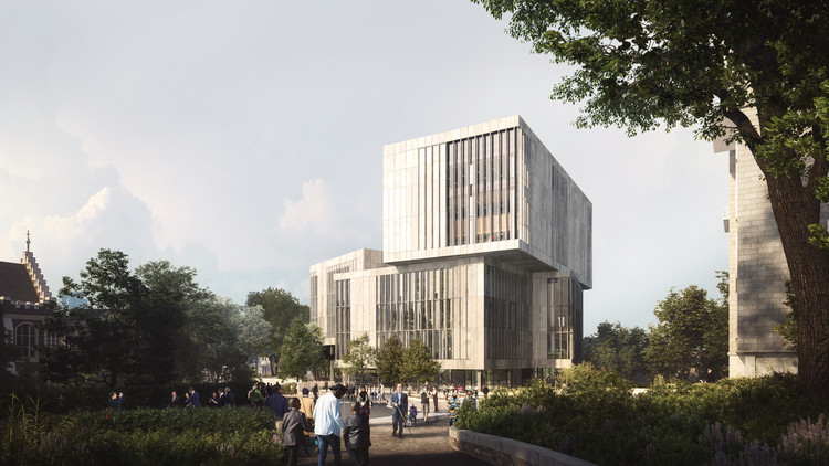 Schmidt Hammer Lassen projeta nova biblioteca da Universidade de Bristol , © Hawkins\Brown & Schmidt Hammer Lassen Architects
