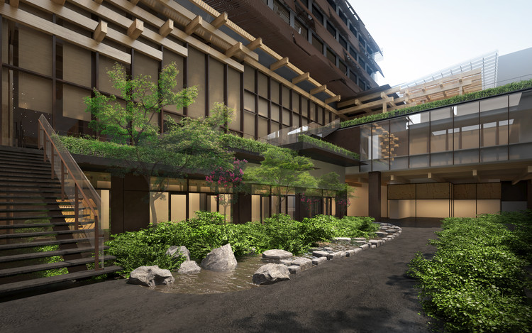 Hotel projetado por Kengo Kuma é inaugurado em Kyoto, Cortesia de Kengo Kuma