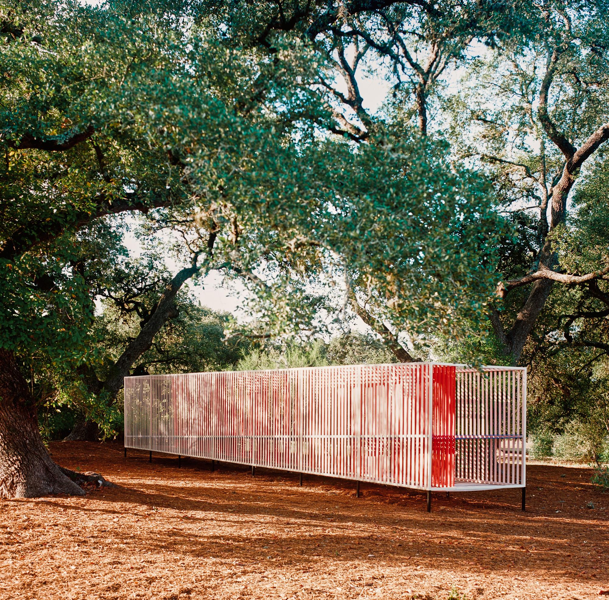 Galeria de Pavilhão Color Trail / Faye + Walker - 1