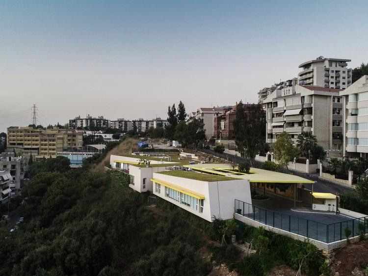 Arslanian Green Roof Kindergarten  / Studio Etienne Bastormagi + Meg Architects, © Wissam Chaaya