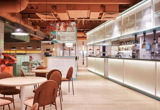 PANAM Pan Asian Restaurant  / architecture bureau MODGI Group