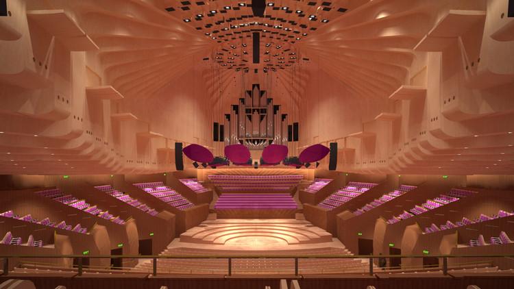 Comienzan Los Trabajos De Renovación En La Sala De Conciertos De La ópera De Sydney Archdaily Colombia